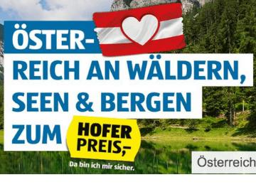 Jetzt bis zu 45 % Rabatt auf deinen Urlaub in Österreich bei HOFER REISEN