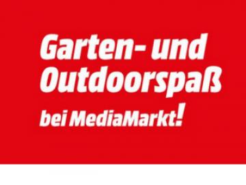 Media Markt Garten- und Outdoorspaß: bis zu 40 % Rabatt