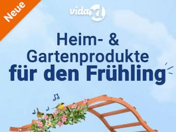 vidaXL Gutschein: € 20.- Rabatt auf Heim & Gartenprodukte